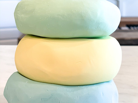 3 Ingredient Calming Play-dough!