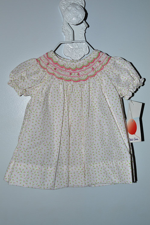 Rosebud Dress with Smocking  36-00439