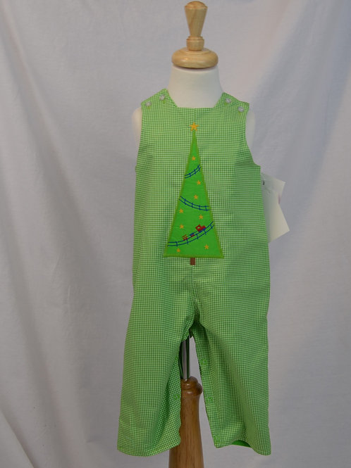 Christmas Tree Reversible John John by Bailey Boys