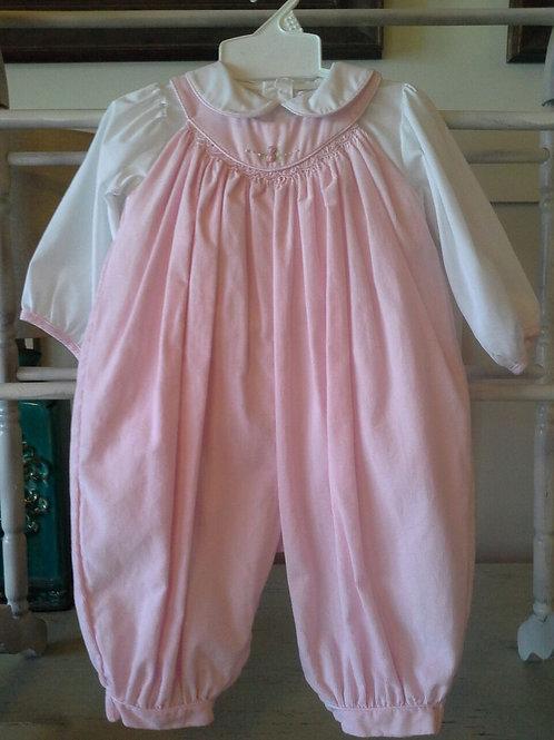 Pink Corduroy Longall  36-00599