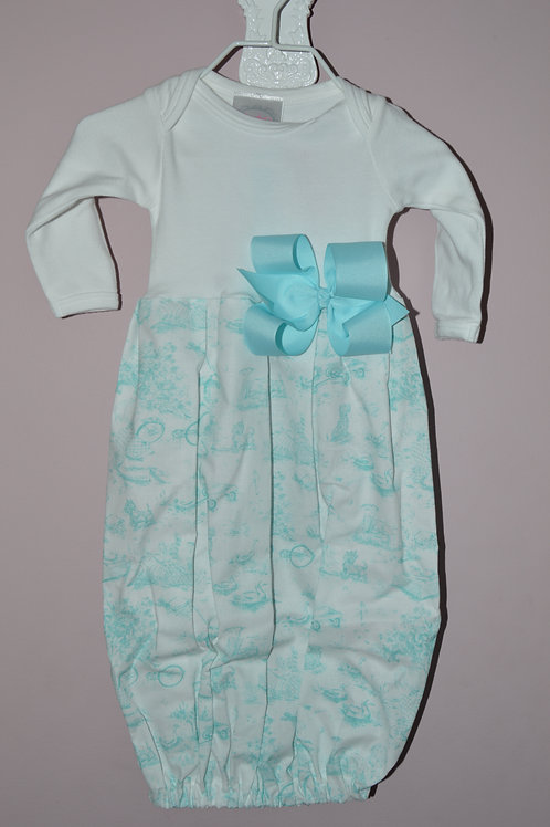 Sugarbugs Closet Gown Blue Toile 29-00401