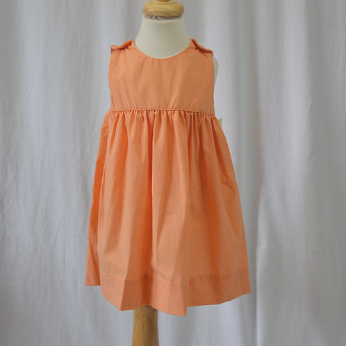 Orange Mini Checked Jumper Petit Ami 36-0364,0365