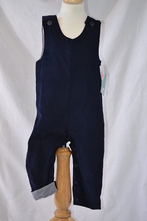 Dark Blue  Corduroy Longall from Timeless Tots