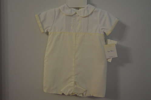 Pale Yellow/White Romper         36-00451/452
