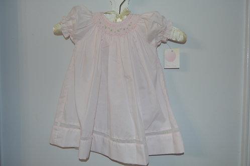 Pink Petit Ami Smocked Bishop Dress 36-00377, 408