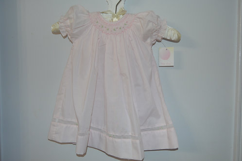 Newborn Petit Ami Pink Bishop Dress 36-00388