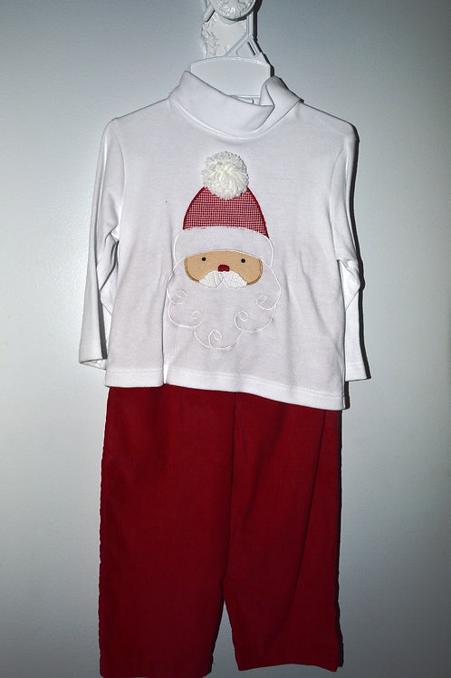Santa Shirt and  Red Corduroy Pants  36-00478