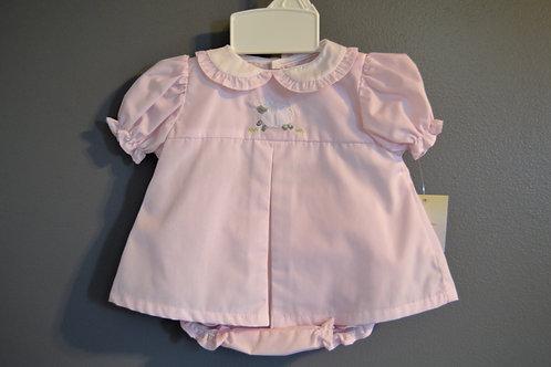 Pink Diaper Set w/Lamb 36-00697