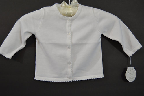 White Renzo Infant Sweater 36-00375