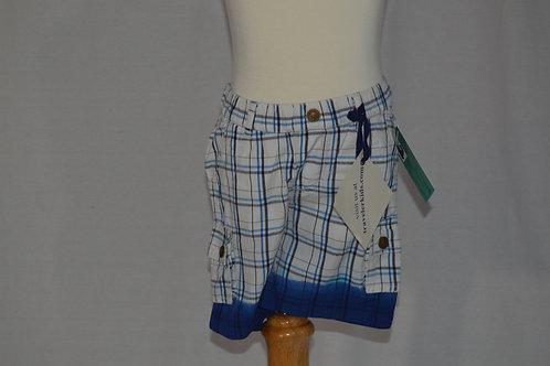 Traveler Dip Dye Cargo Cobalt Shorts 32-0308
