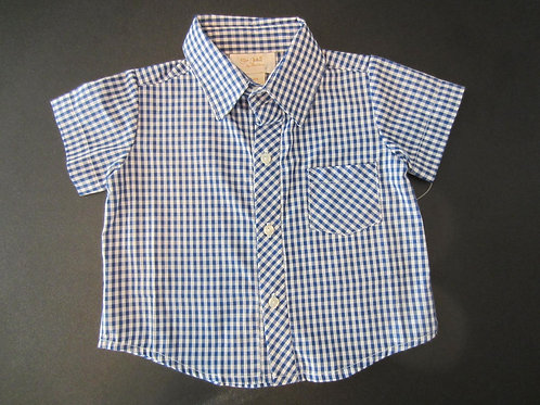 Blue Gingham Shirt 18-00151