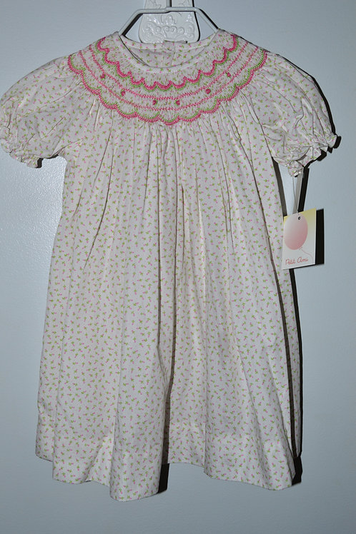 Smocked Rosebud Daygown   36-00438