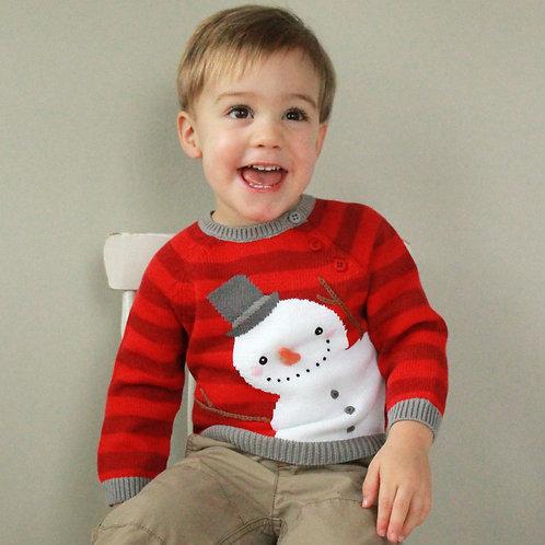 Zubels Snowman Sweater 4100602