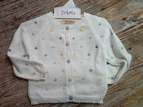 Pastel Dot Cardigan Sweater  41-00591