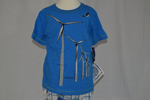 Traveler Cobalt Blue Windmill Shirt 32-0301