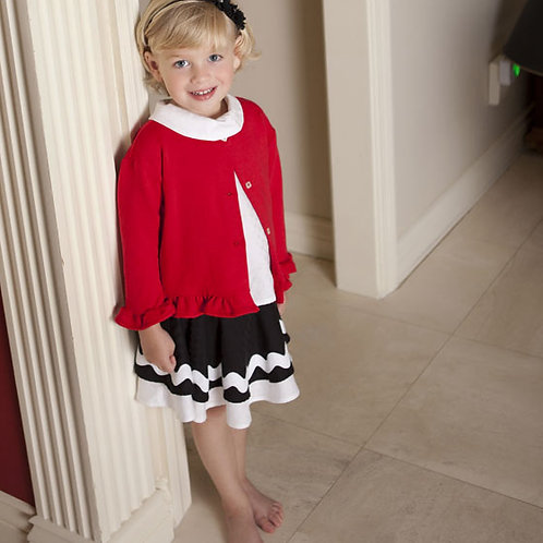Valentine Sweater in Red from Max and Dora