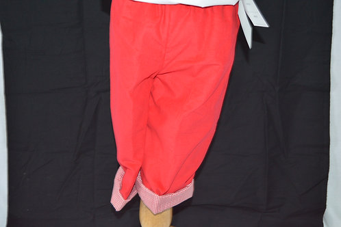 Red Corduroy Pant by Timeless Tot 17-0191
