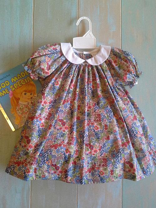 36-00684  Petit Ami Fall Floral Dress