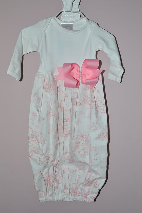 Pink Toile Sugarbugs Closet Gown 29-00402