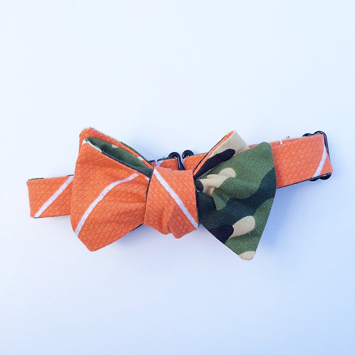 Duck Hunt Reversible Bow Tie from Tadpole and Lily