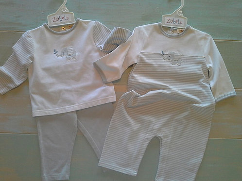 Boy's Elephant Top and Pants Set  41-00597