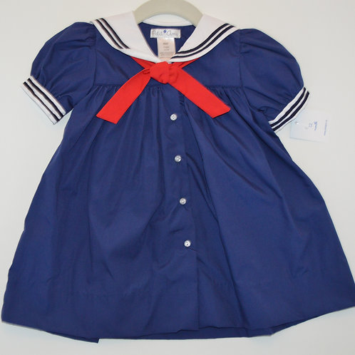 Petit Ami Navy Sailor Dress 36-00379 (2160,3060)