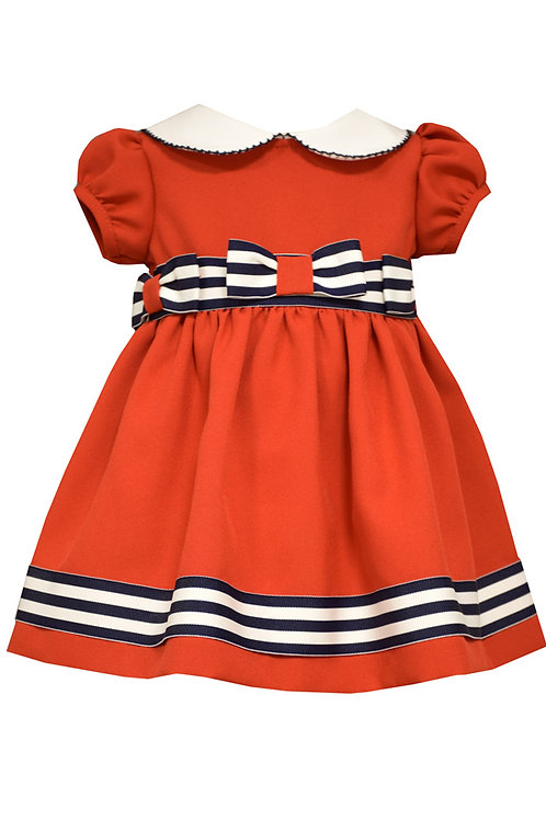 Nautical Peter Pan Dress from Bonnie Jean 39-411