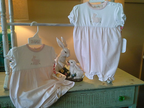 Knit Bunny Dress and Bloomer Set 36-00639