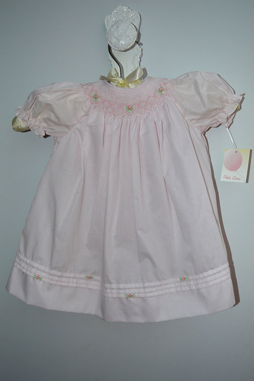 Pink Bishop Smocked Daydress 36-0362,0370