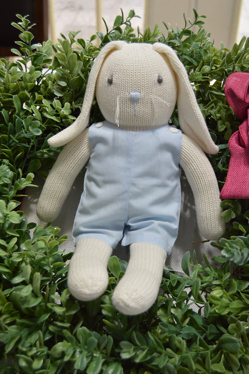Rabbit in  Blue Romper 36-00701