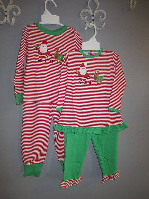 Big girl Squiggles Santa & Reindeer outfit44-00694