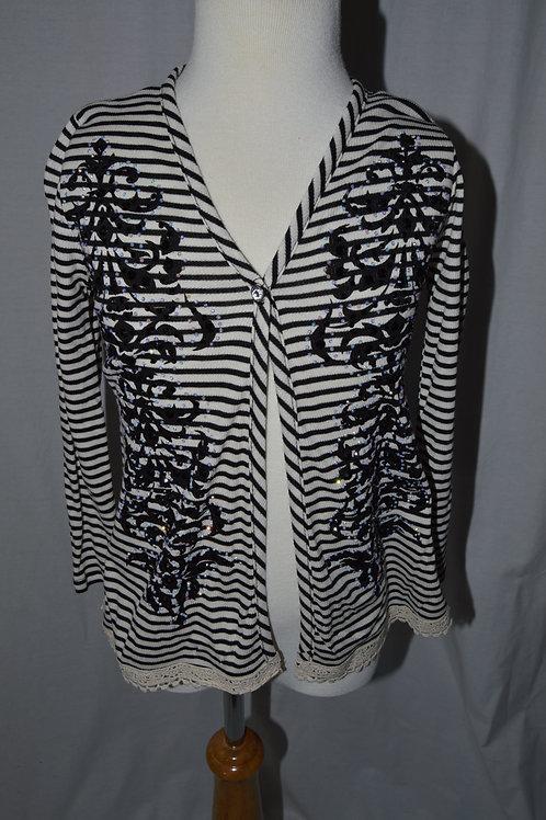 Embellished Vintage Sweater 35-00338