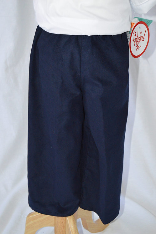 Dark Blue Corduroy Pant from Timeless Tots