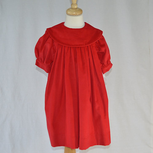 Red Float Dress by Timeless Tots              0195