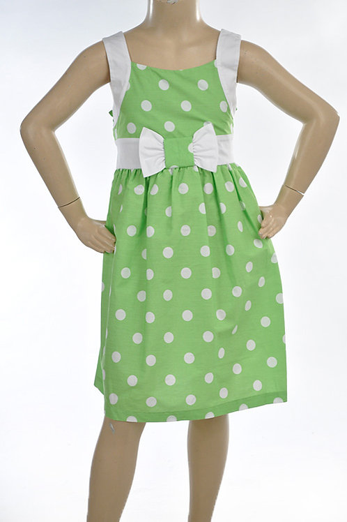 Spring Green Sundress by Bonnie Jean