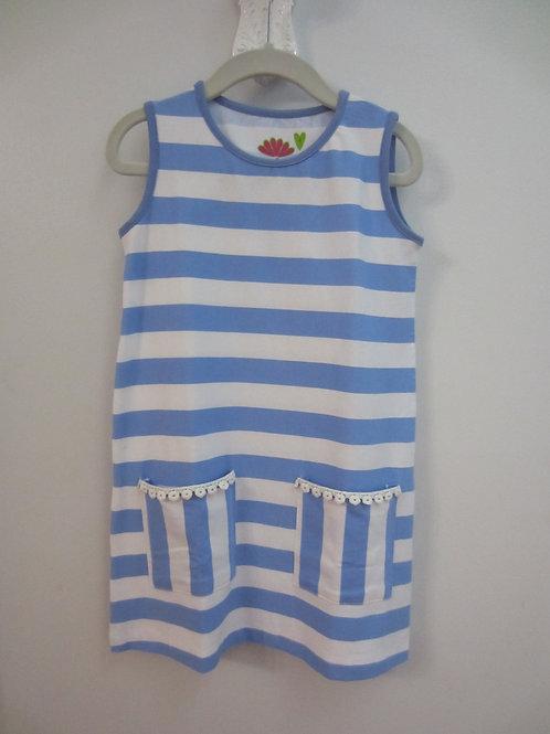Pollyanna Tank Dress Blue Stripe 38-00646