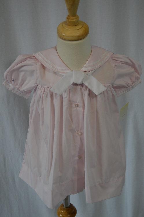 Pink Sailor Dress Petit Ami  36-00392