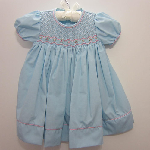 Petit Ami Infant dress with smocking