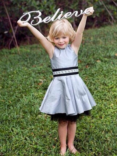 Cade Dress in Silver  Max and Dora 16-0235