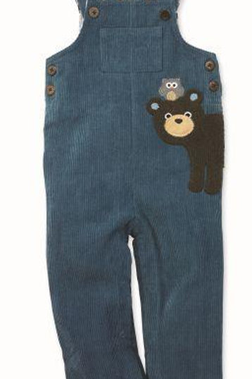 Bear Overalls from Mud Pie