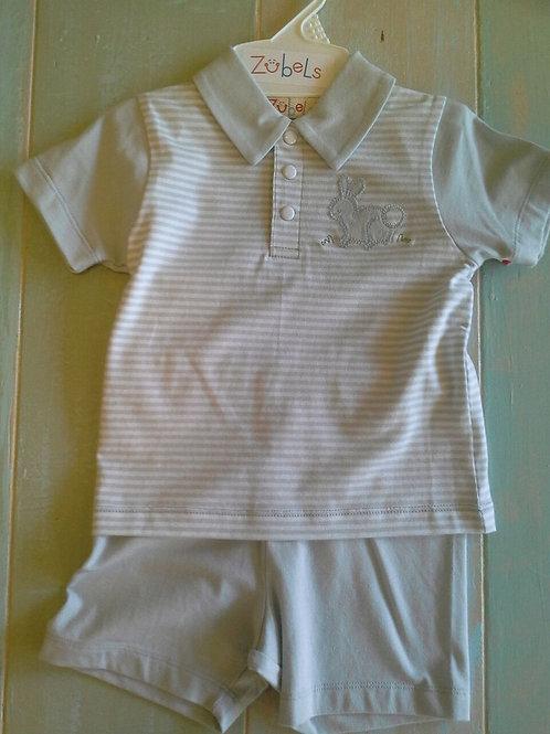 Cotton Knit Bunny  Shirt & Shorts  36-00641