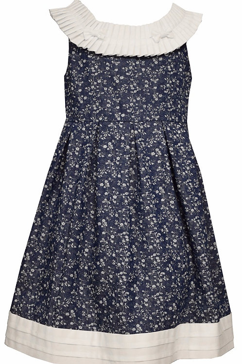 Bonnie Jean Navy/White Sundress 39-00415, 416