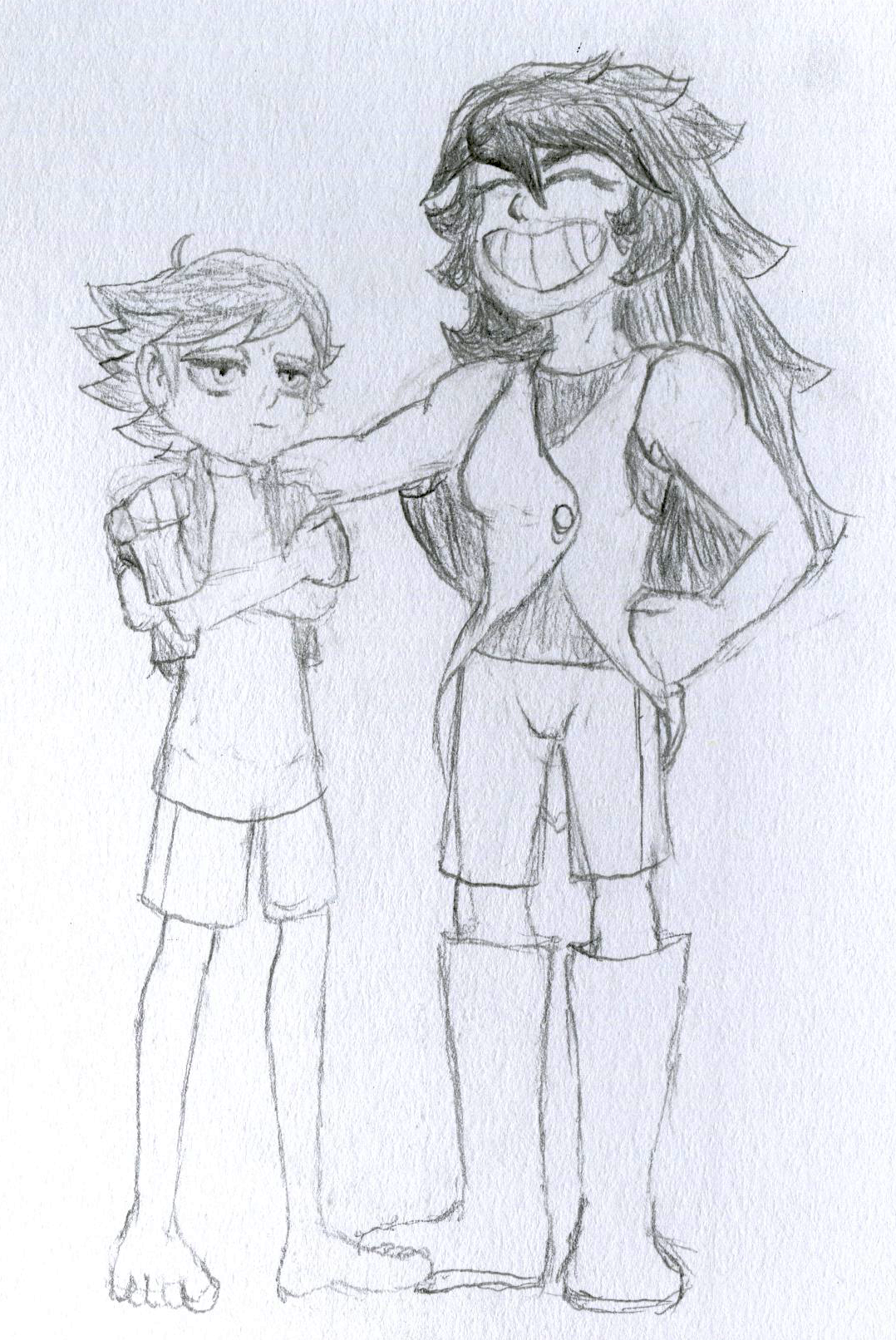 Fortis and Sola sketch