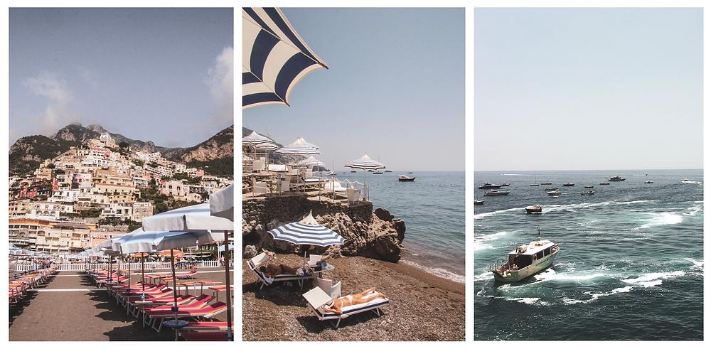 Amalfi Coast Positano Stacked Houses