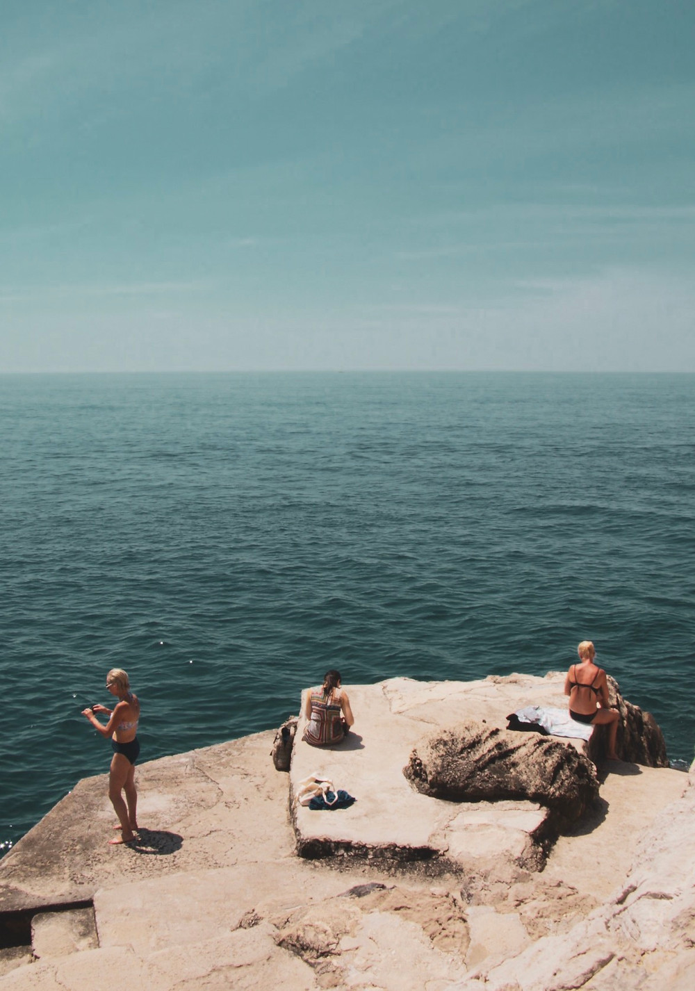 Ocean Rock Croatia Dubrovnik Peacfull Ladies