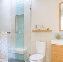 Modern Ranch Guest Bathroom