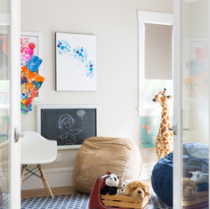 Modern Craftsman Playroom