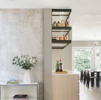 Modern Kitchen + Bar