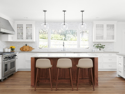 Alina Halloran Design's Farmhouse Kitchen Featured on Houzz