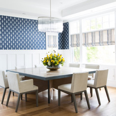 Modern Craftsman Dining Room